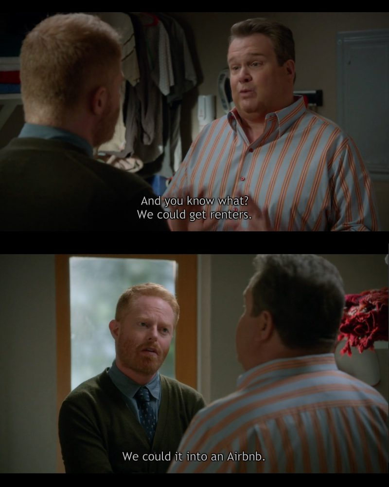 Airbnb – Modern Family TV Show Product Placement