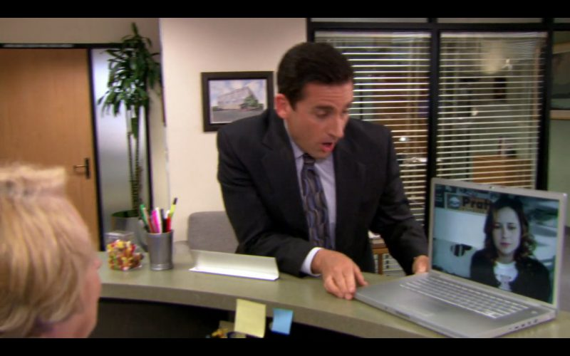 Apple MacBook Pro - The Office - TV Show Product Placement
