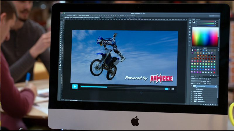 Apple iMac & Adobe Photoshop CC - Silicon Valley - TV Show Product Placement