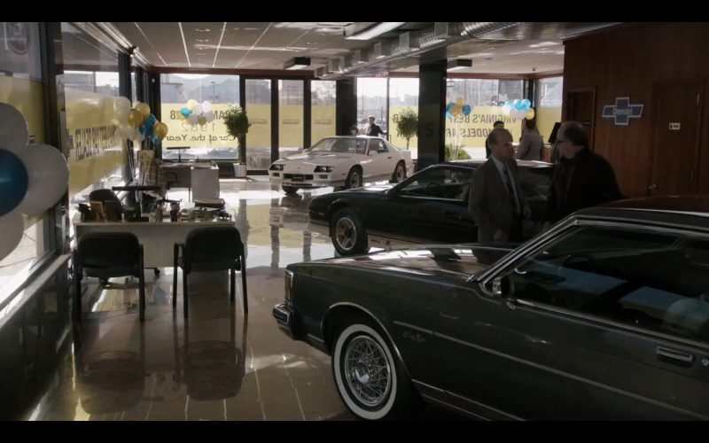 Chevrolet Camaro Z28 – The Americans TV Show Product Placement