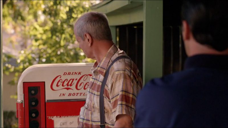 Coca-Cola Vending Machine - Mad Men TV Show Product Placement