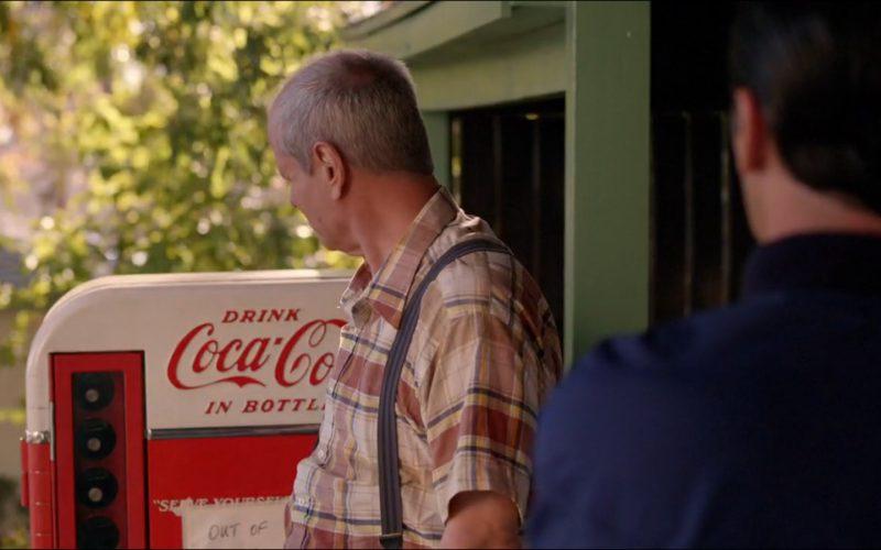 Coca-Cola Retro Vending Machine – Mad Men (1)