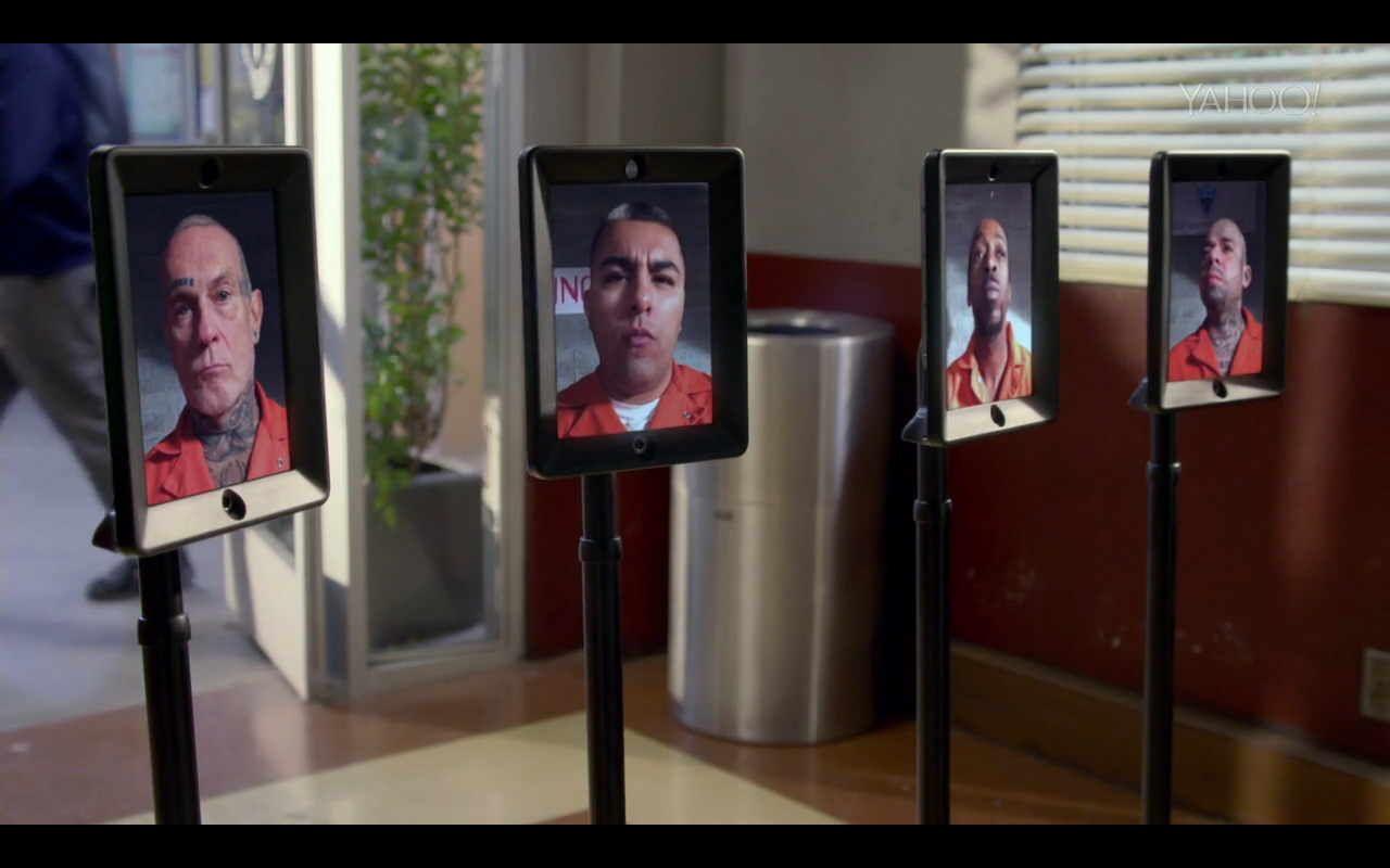Double telepresence robot community tv show scenes for Community tv show pool episode