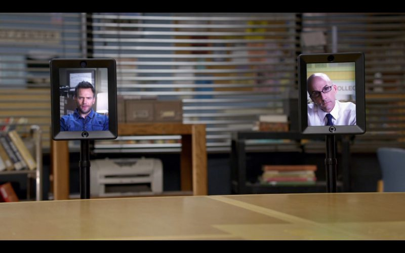Double Telepresence Robot - Community TV Show Product Placement