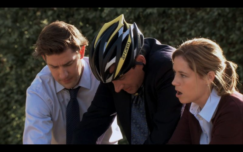 Giro Bike Helmet - The Office - TV Show Product Placement