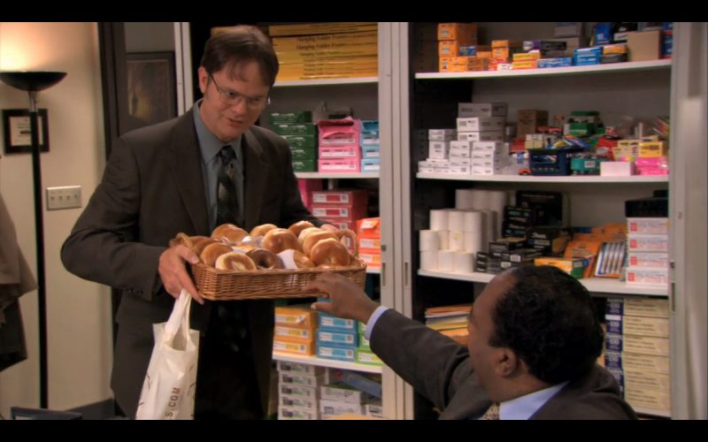 H&H Bagels - The Office - TV Show Product Placement