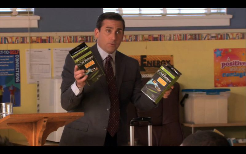 HP Notebook 6-Cell Battery - The Office TV Show Product Placement