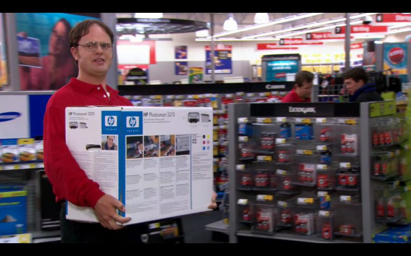 HP Photosmart 3210 Printer - The Office - TV Show Product Placement