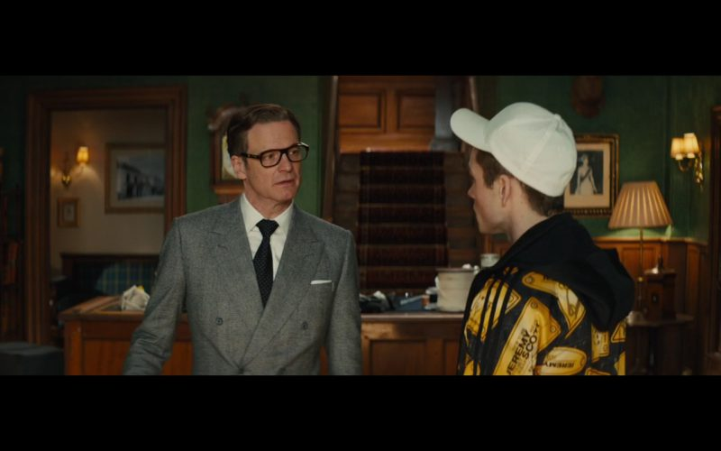 Jacket by Adidas Originals By Jeremy Scott - Kingsman: The Secret Service (2014) Movie Product Placement