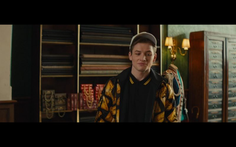 Jacket by Adidas Originals By Jeremy Scott - Kingsman: The Secret Service (2014) - Movie Product Placement