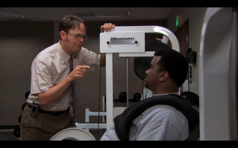 Magnum Fitness Systems - The Office TV Show Product Placement