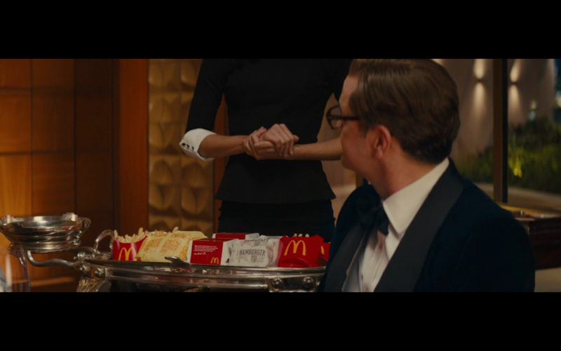 McDonald's - Kingsman: The Secret Service (2014) Movie Product Placement