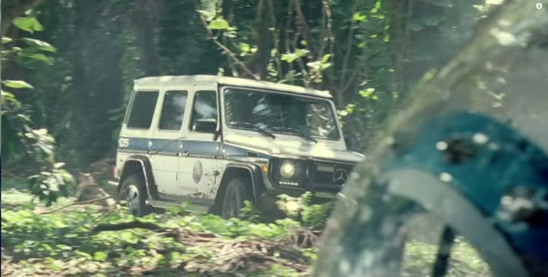 Mercedes-Benz G-Class (4x4) - Jurassic World (2015) Movie Product Placement