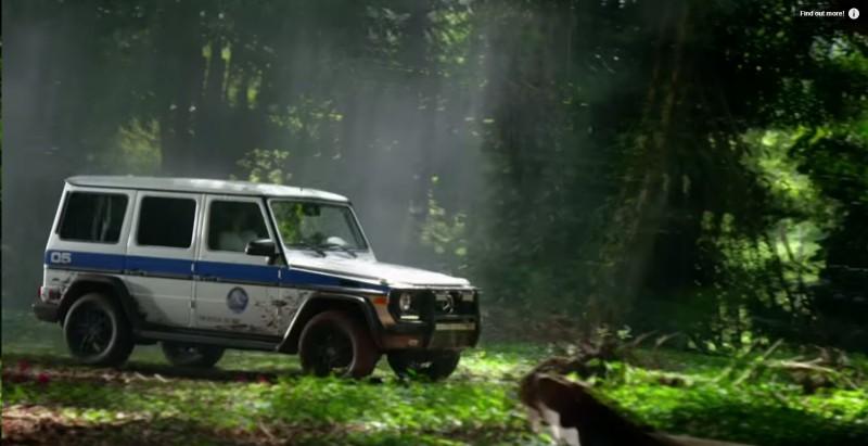 Mercedes-Benz G-Class (4x4) - Jurassic World (2015) Movie Product Placement