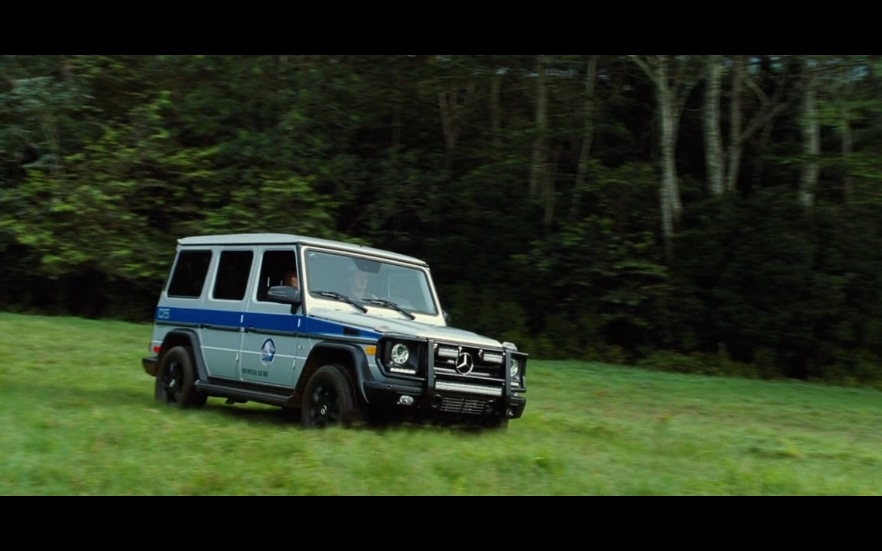 Mercedes-Benz G-Class Product Placement in Jurassic World 2015 (1)