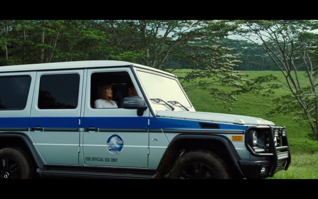 Mercedes-Benz G-Class Product Placement in Jurassic World 2015 (2)