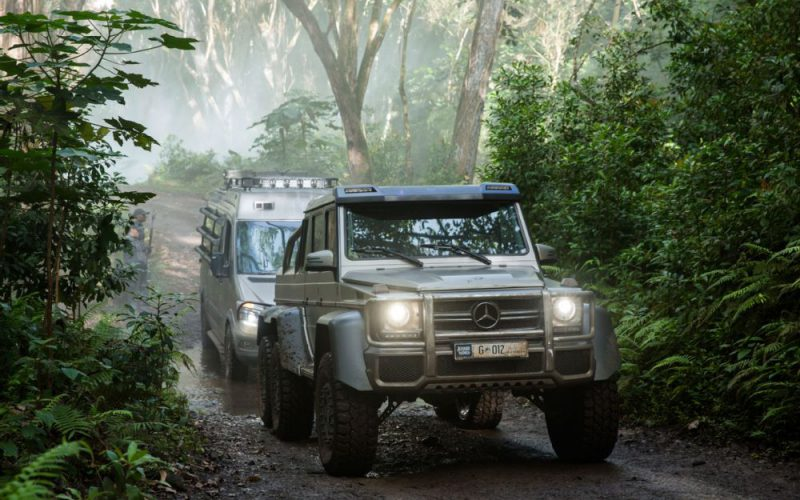 Mercedes-Benz G63 AMG 6×6 – Jurassic World (2015)