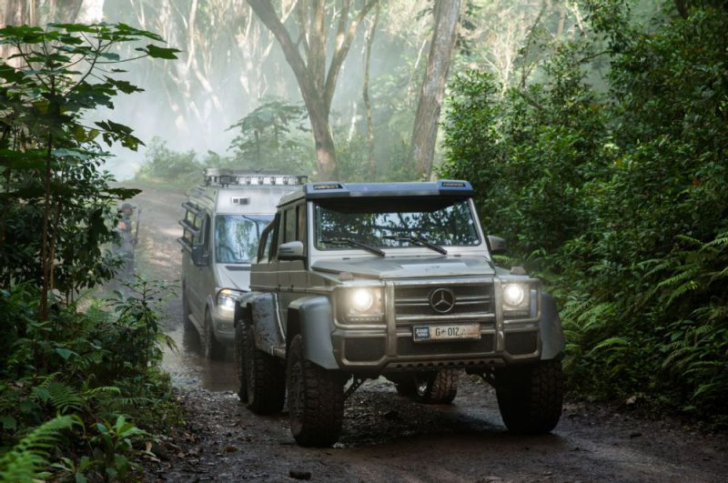 Mercedes-Benz G63 AMG 6x6 - Jurassic World (2015)