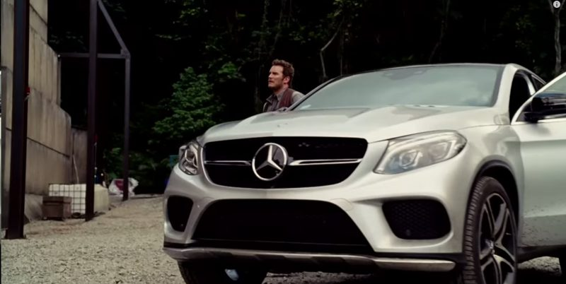 Mercedes-Benz GLE 450 AMG Coupé - Jurassic World (1)