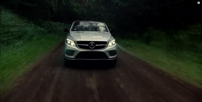Mercedes-Benz GLE 450 AMG Coupé - Jurassic World (2015) - Movie Product Placement