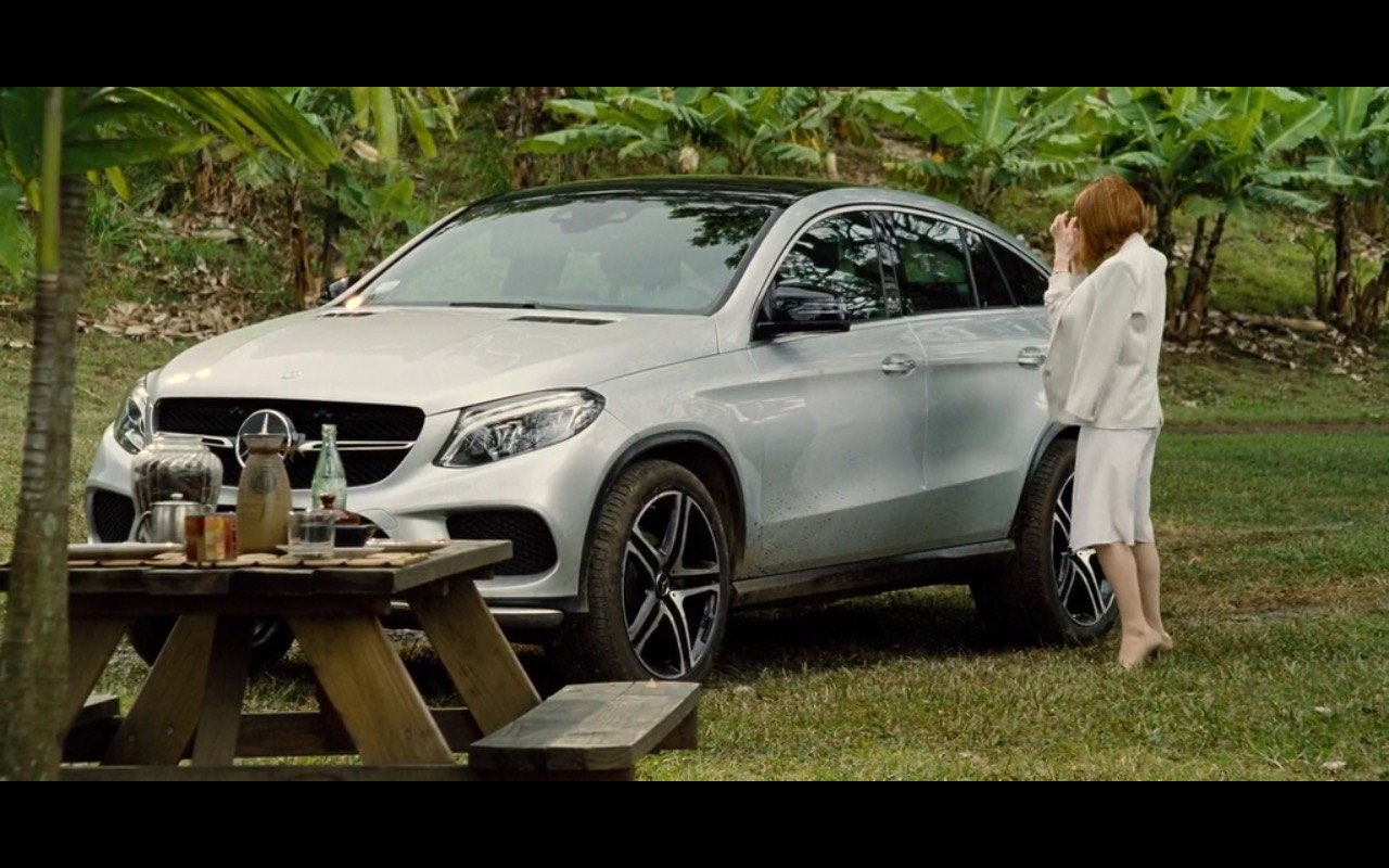 Mercedes Benz Gle 450 Amg Coup 233 Jurassic World 2015 Movie