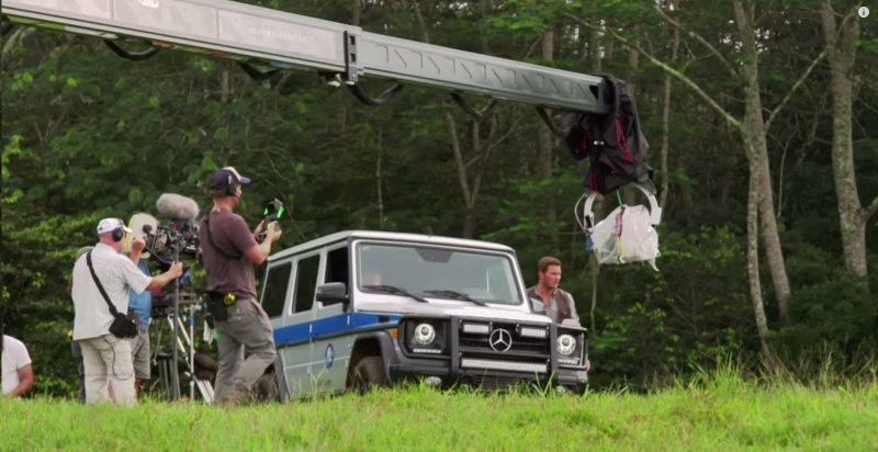 Behind The Scenes: Mercedes-Benz in Jurassic World (2015) - Movie 🎬 Product Placement