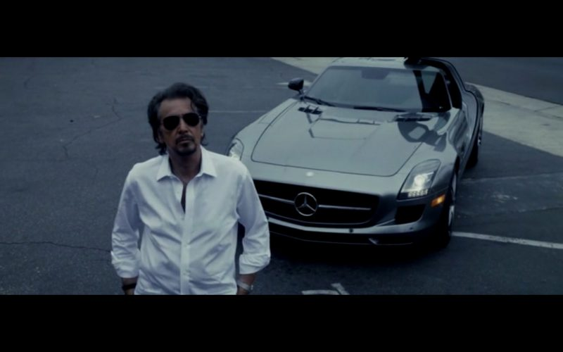Metallic Mercedes-Benz SLS AMG - Danny Collins (2015) Movie Product Placement