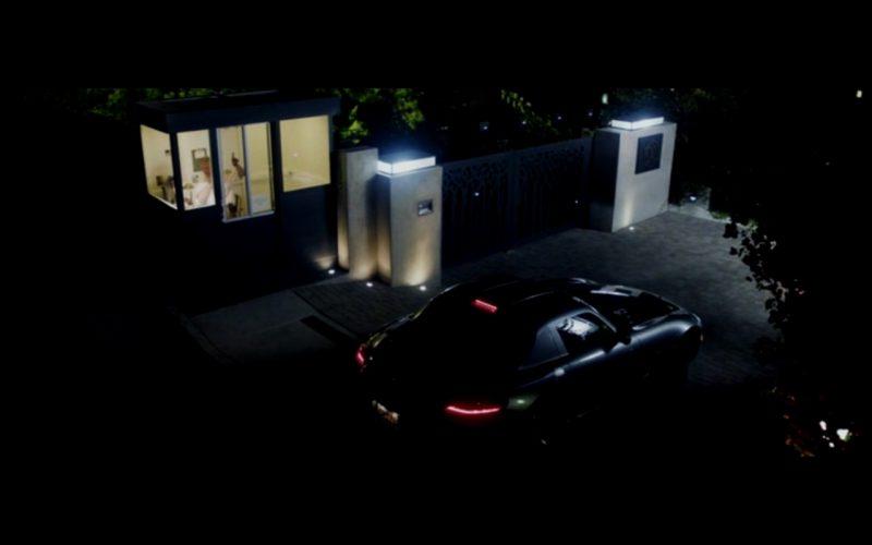 Metallic Mercedes-Benz SLS AMG - Danny Collins (2015) Movie Product Placement