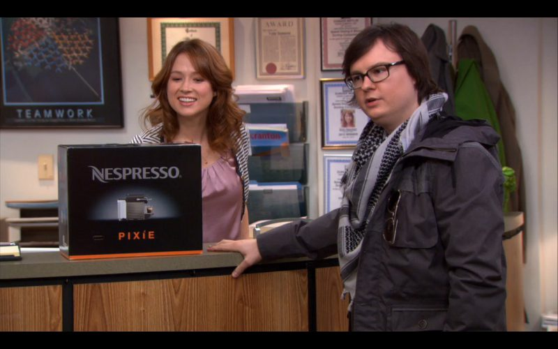 Nespresso Pixie - The Office TV Show Product Placement