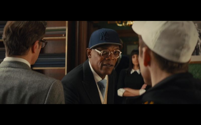 New York Yankees Caps - Kingsman: The Secret Service (2014) Movie Product Placement