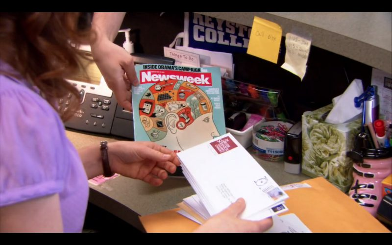 Newsweek - The Office TV Show Product Placement