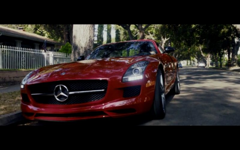 Red Mercedes-Benz SLS AMG – Danny Collins (1)