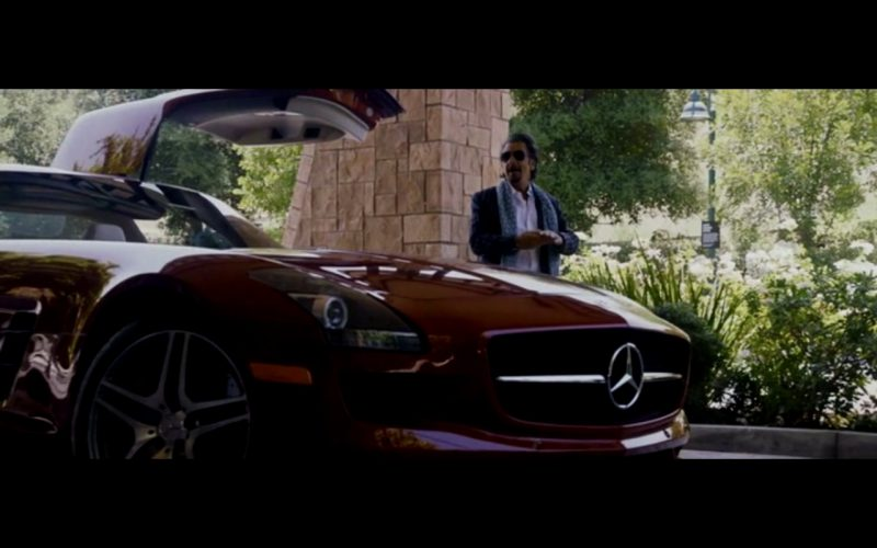 Red Mercedes-Benz SLS AMG – Danny Collins (10)