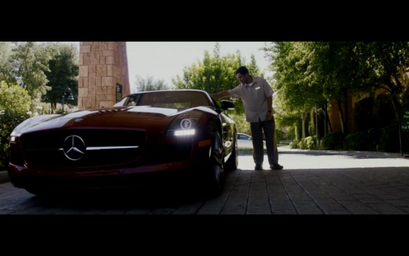 Red Mercedes-Benz SLS AMG – Danny Collins (13)