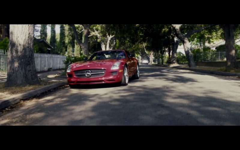 Red Mercedes-Benz SLS AMG – Danny Collins (14)