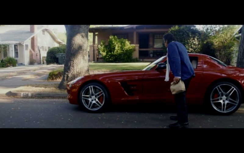 Red Mercedes-Benz SLS AMG – Danny Collins (2)