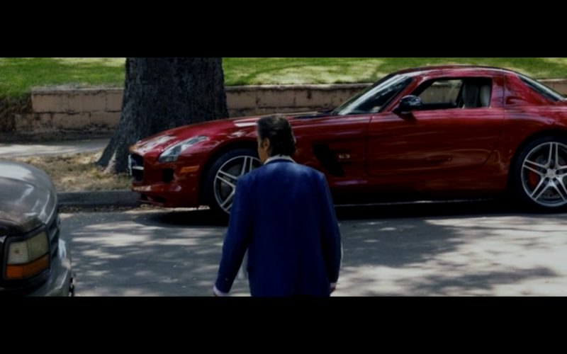 Red Mercedes-Benz SLS AMG – Danny Collins (3)