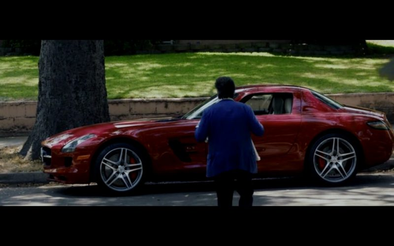 Red Mercedes-Benz SLS AMG – Danny Collins (4)