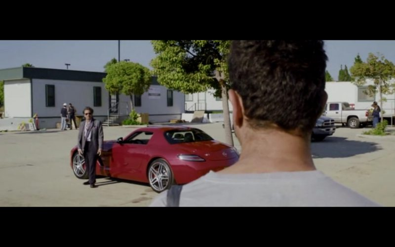Red Mercedes-Benz SLS AMG – Danny Collins (5)