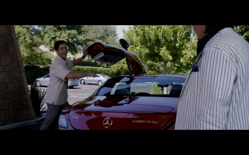 Red Mercedes-Benz SLS AMG – Danny Collins (6)