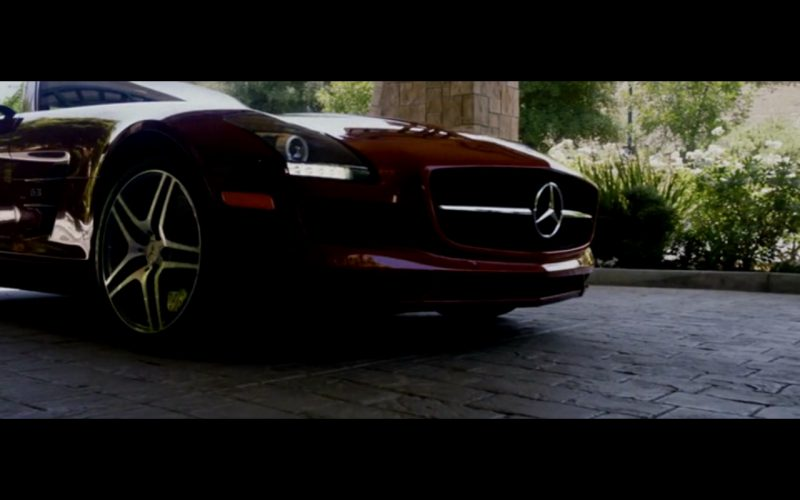 Red Mercedes-Benz SLS AMG – Danny Collins (8)