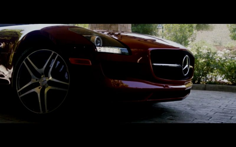 Red Mercedes-Benz SLS AMG – Danny Collins (9)