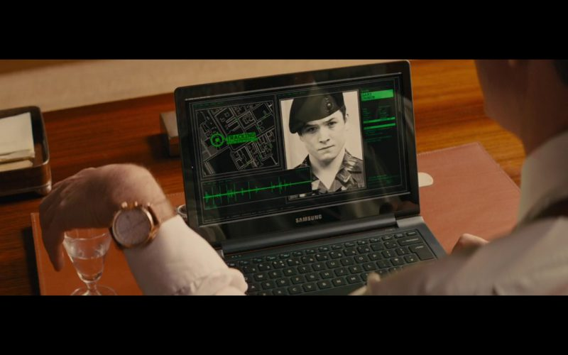 Samsung Notebook – Kingsman: The Secret Service (2014) - Movie Product Placement