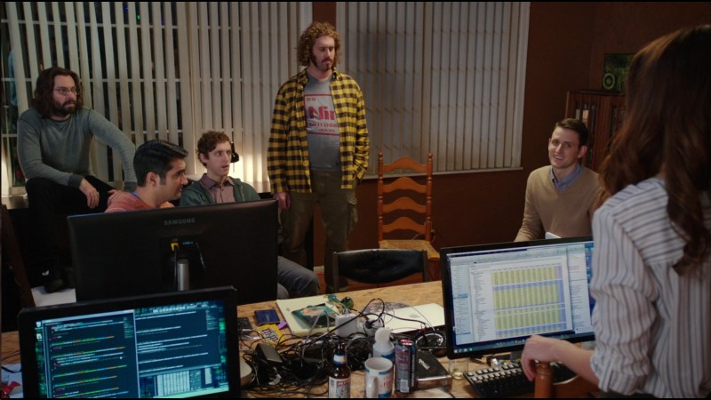 Samsung Monitor - Silicon Valley TV Show