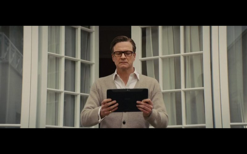 Samsung Tablet – Kingsman: The Secret Service (2014) Movie Product Placement