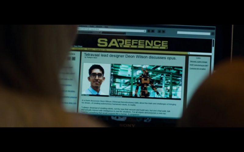 Sony VAIO Notebook - Chappie (2015) Movie Product Placement