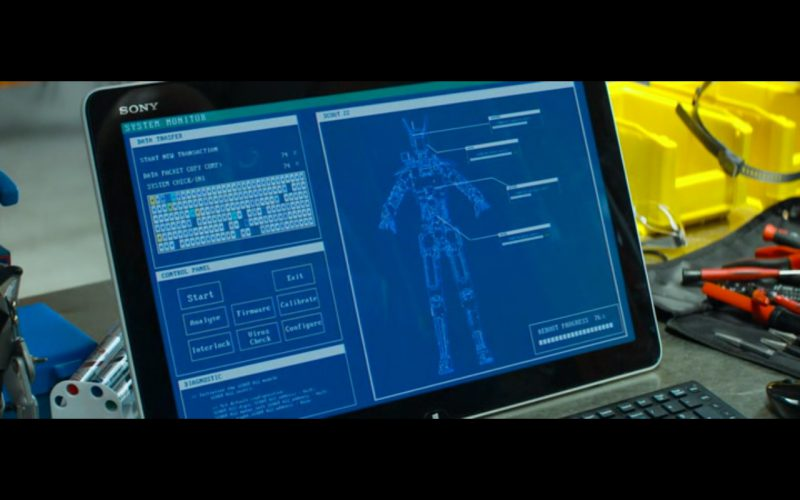 Sony VAIO PC – Chappie (2015) Movie Product Placement