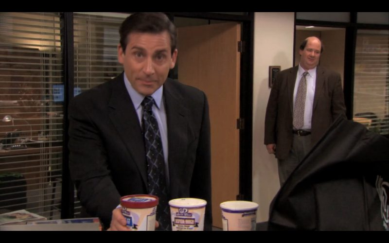 Wegmans Ice Cream - The Office TV Show Product Placement