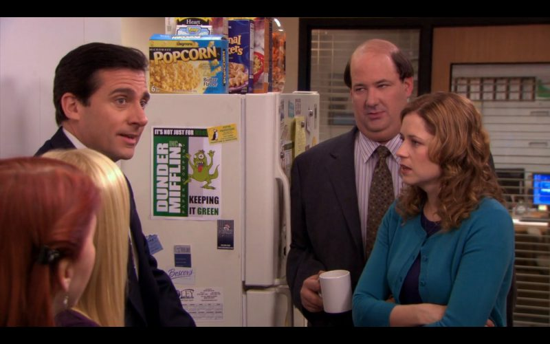 Wegmans Popcorn - The Office TV Show Product Placement