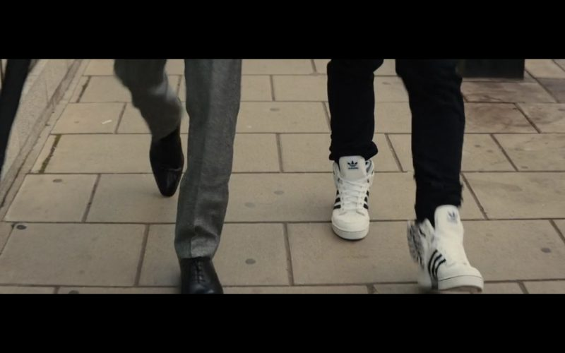 White Adidas Sneakers - Kingsman: The Secret Service (2014) Movie Product Placement